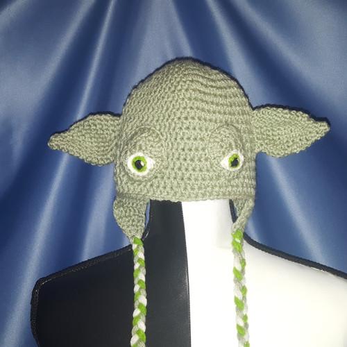 "Star Wars ""Jedi Master Yoda"" Character Hat by Mumsie of Stratford."