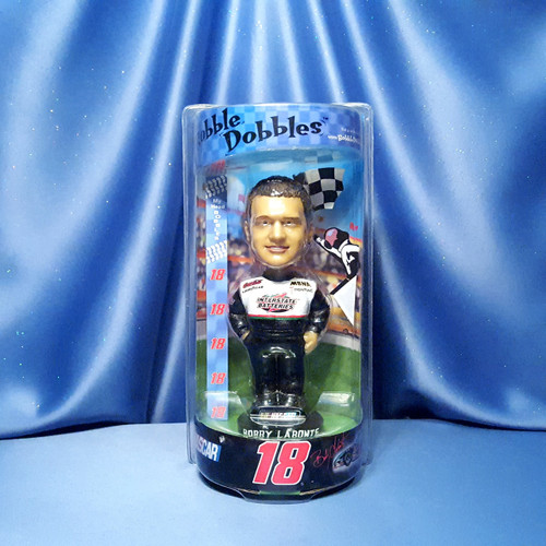 Bobby Labonte #18 Bobblehead by Bobble Dobbles.