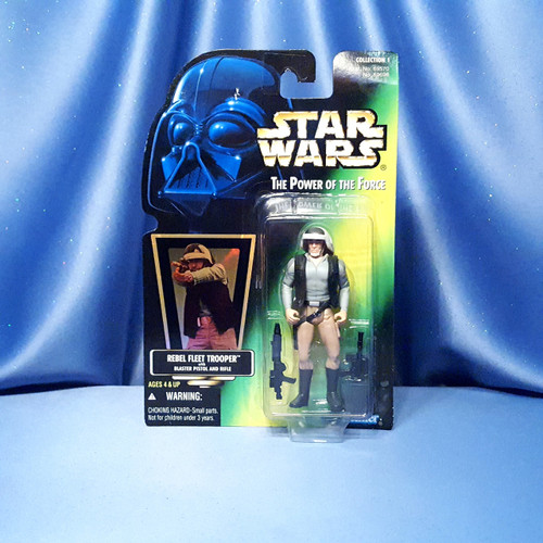 Star Wars Rebel Fleet Trooper with Blaster Pistol and Rifle Action Figure