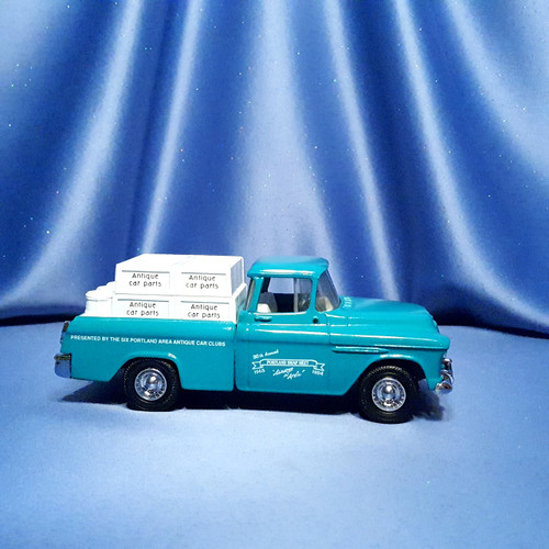 1955 Chevrolet Cameo Pickup Truck - Coin Bank by Ertl