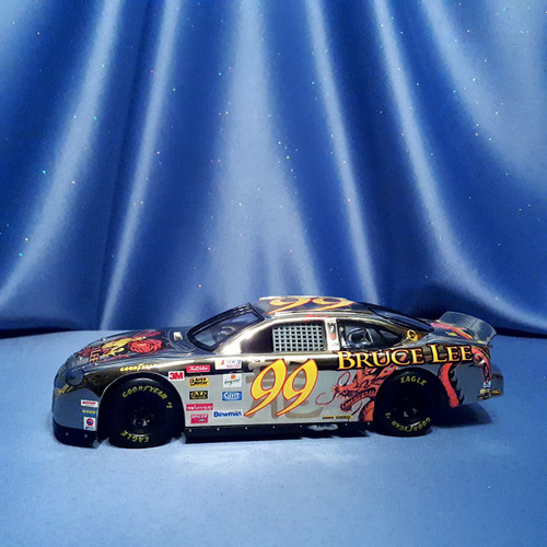NASCAR Gold Series Jeff Burton #99 Car with Bruce Lee Embellishments by Racing Champions.
