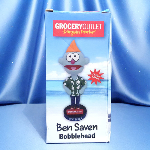 Ben Saven Bobblehead - Limited Edition by Grocery Outlet.