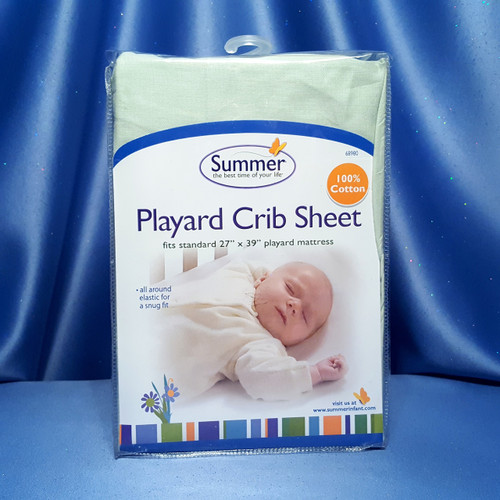 Playard Crib Sheet by Summer Infant.