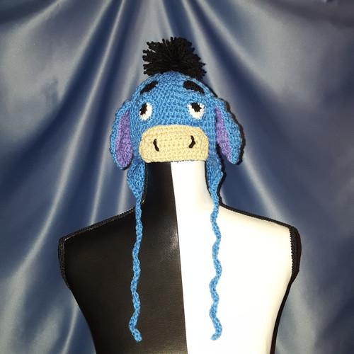 Eeyore Character Hat by Mumsie of Stratford.