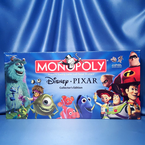 Disney Pixar Monopoly Collector's Edition by USAopoly.