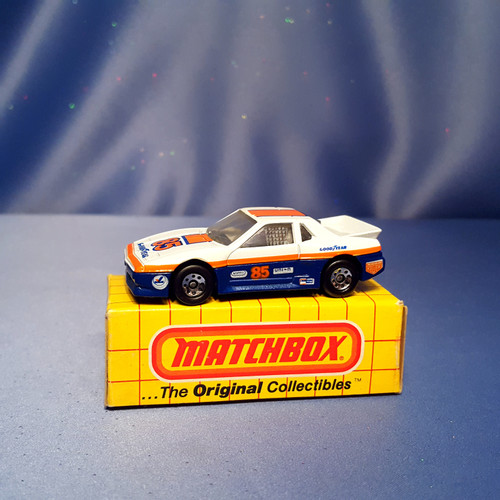 1985 Pontiac Fiero Car by Matchbox.