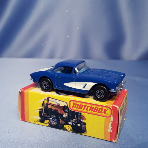 1962 Chevrolet Corvette Car by Matchbox.