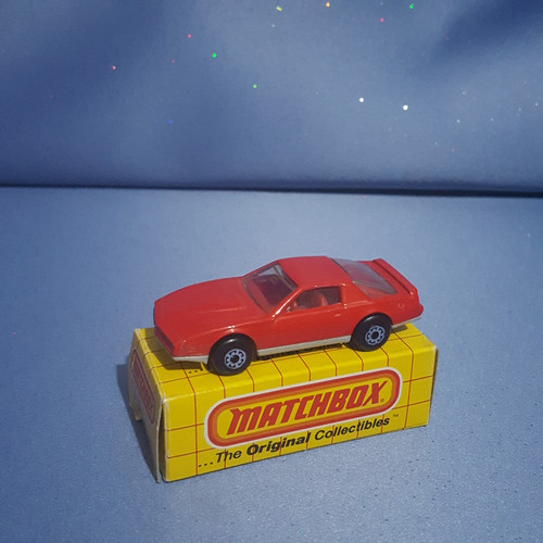 1982 Pontiac Firebird S/E Car by Matchbox.