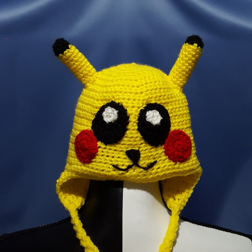 Pikachu Character Hat by Mumsie of Stratford.