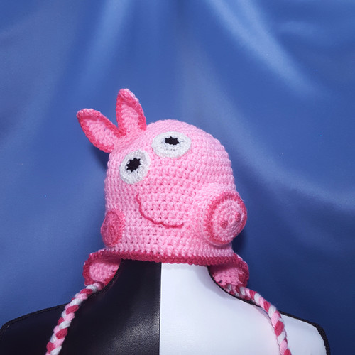 Peppa Pig Character Hat by Mumsie of Stratford.