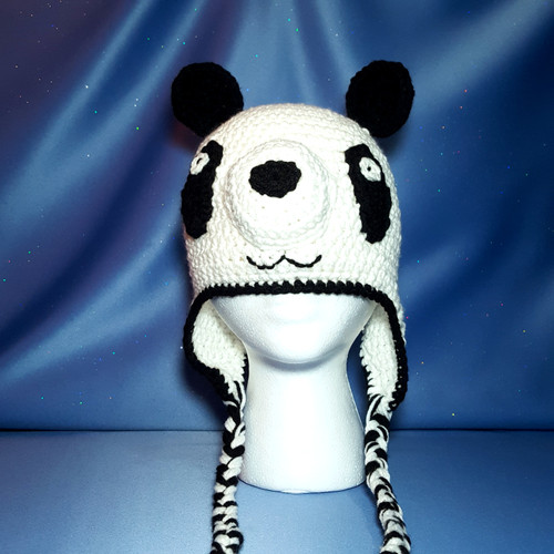 Panda Bear Character Hat by Mumsie of Stratford