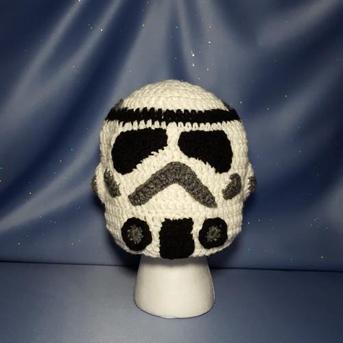 "Star Wars ""Storm Trooper"" Character Hat by Mumsie of Stratford."