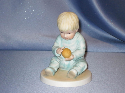 Let's Play Catch Figurine by Francis Hook.