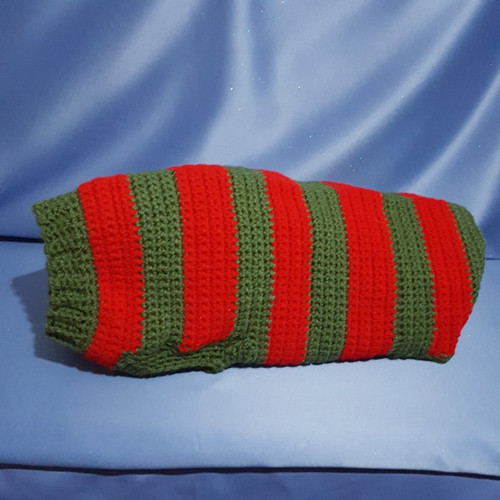 Dog Sweater Custom Made for a Medium Size Dog by Mumsie of Stratford