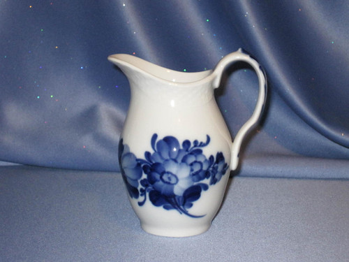 Blue Flower Creamer by Royal Copenhagen.