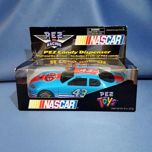 NASCAR Racing #43 Richard Petty Candy Dispenser by PEZ.