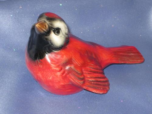 Cardinal Bird Figurine by W. Goebel.