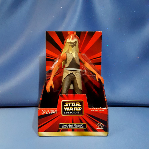 Star Wars The Phantom Menace Episode I Jar Jar Binks Action Figure by Hasbro.