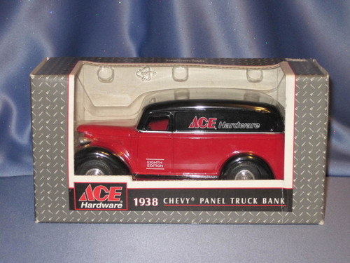 Ace Hardware 1938 Chevy Panel Truck Bank by Ertl.