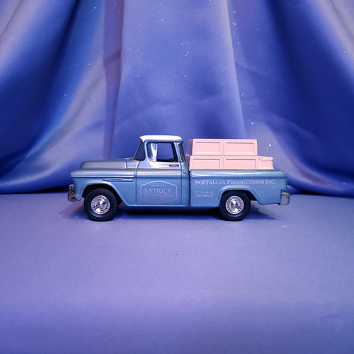 Straits Area 1955 Chevrolet Cameo Pickup Truck Bank by Ertl.