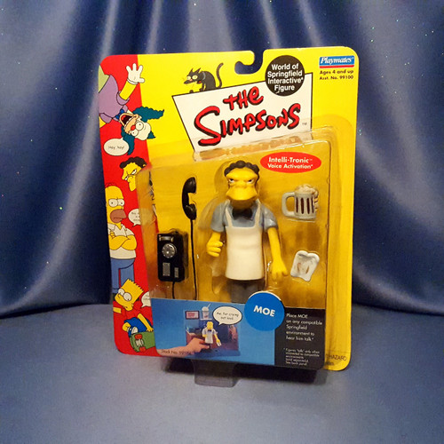 The Simpsons - Moe - Action  Figure by Playmates.