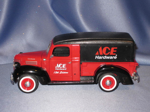 Ace Hardware 1947 Dodge Canopy Truck with Load by Ertl.