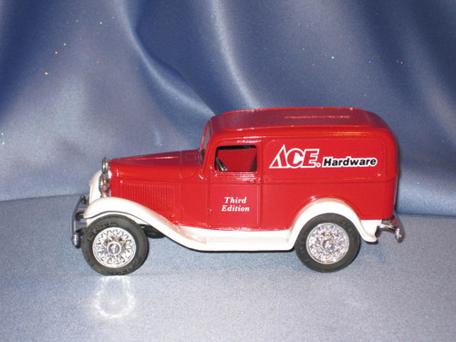 Ace Hardware 1932 Ford Panel Delivery Truck Bank by Ertl.