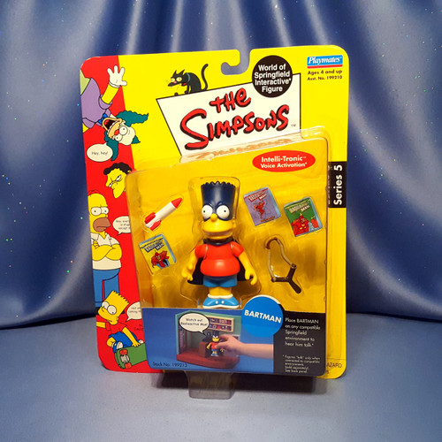The Simpsons Bartman Action Figure by Playmates.