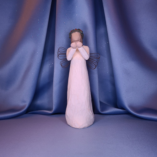 "Willow Tree ""Angel of Christmas Spirit"" Figurine by Demdaco"