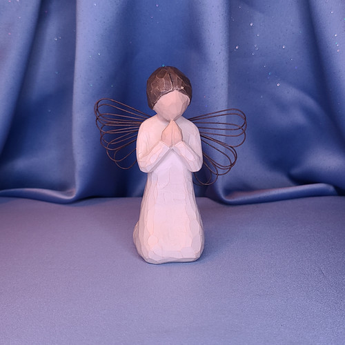 "Willow Tree ""Angel of Prayer"" Figurine by Demdaco"