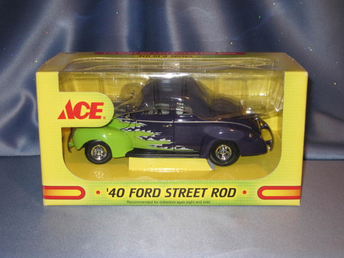 Ace Hardware 1940 Ford Street Rod Coin Bank by First Gear.