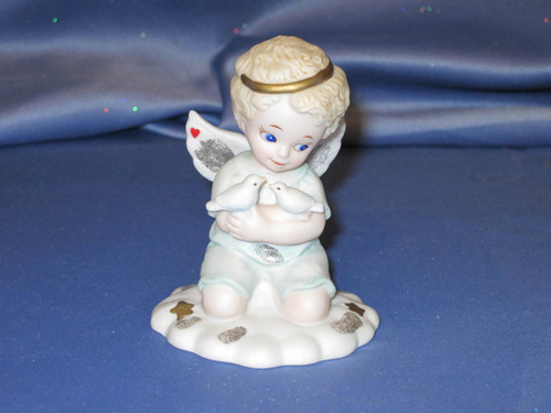 Bundles of Love Angel Figurine by Bronson Collectibles.