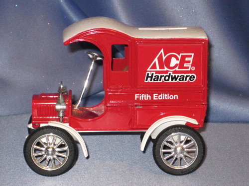 Ace Hardware 1905 Ford Delivery Car Bank by Ertl.