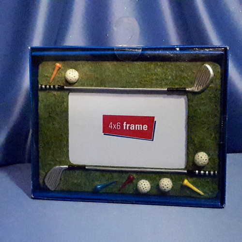 Golf Inspired Picture Frame.