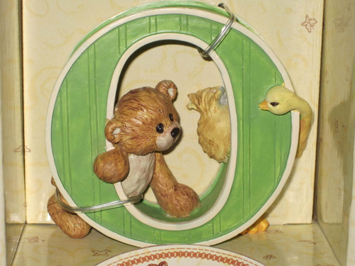 Thinking of You - Letter O by Gund w/Box.