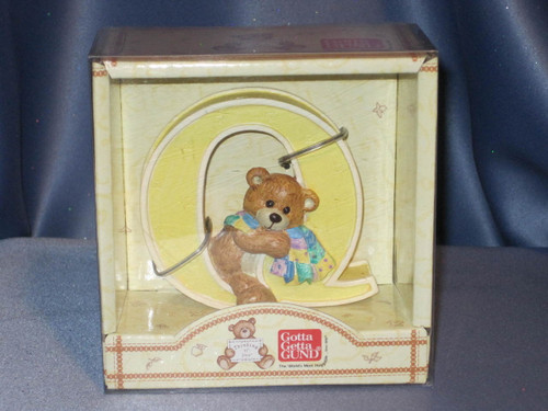 Thinking of You Letter Q by Gund.