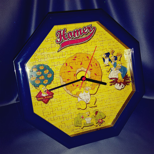 The Simpsons Homer Puzzle Clock.