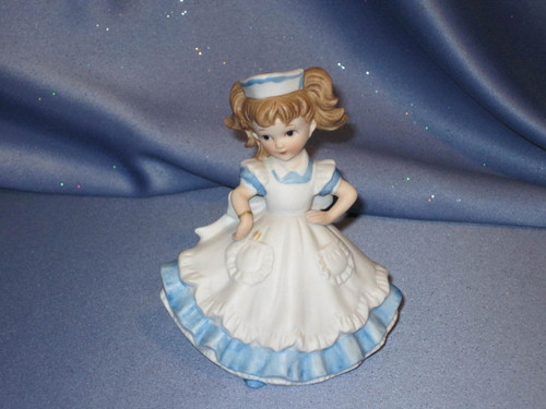 Caring Nurse - Handpainted Figurine by Lefton.