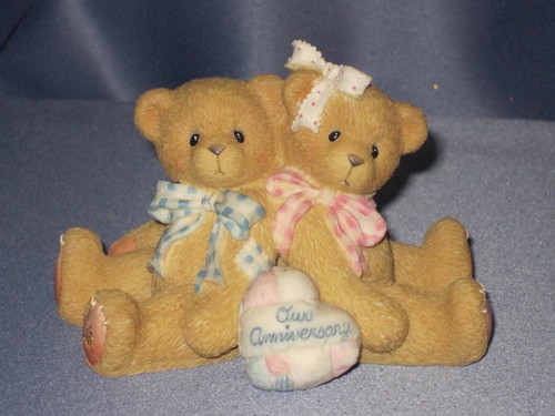 "Cherished Teddies ""You Grow More Dear With Each Passing Year"" Figurine W/Comp Box."