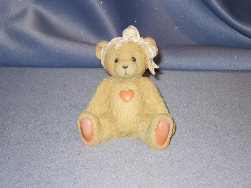 "Cherished Teddies - Sara - ""Love Ya""  W/Comp Box."