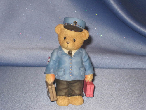 "Cherished Teddies - Lloyd Figurine - ""Symbol of Membership"" W/Comp Box."