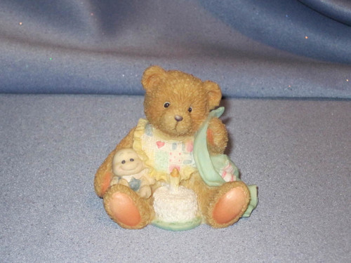 "Cherished Teddies - Age 1 ""Beary Special One"" Figurine W/Comp Box."