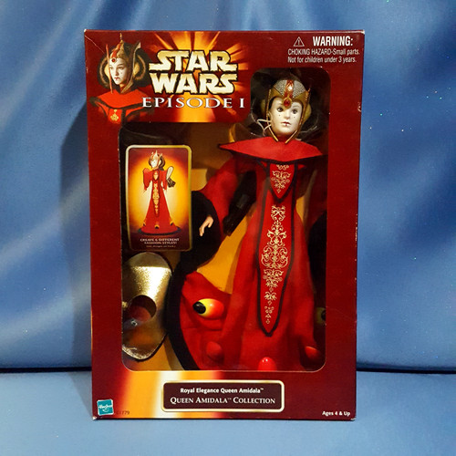 Star Wars Episode I Royal Elegance Queen Amidala Action Figure by Hasbro.