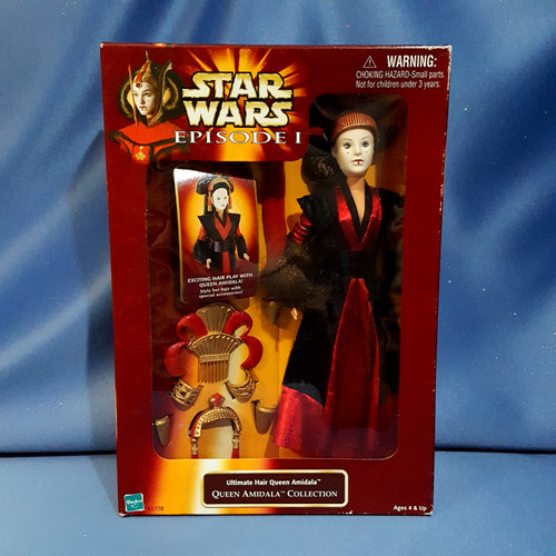 Star Wars Episode I Ultimate Hair Queen Amidala Action Figure by Hasbro.