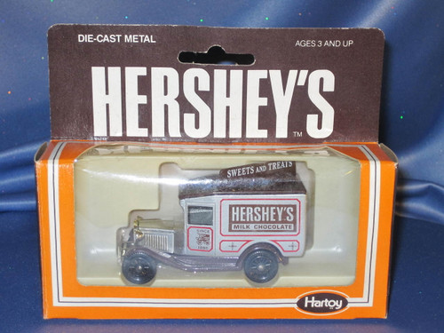 Hershey's Milk Chocolate Sweets and Treats Delivery Truck by Lledo.