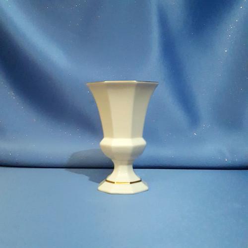 Octagonal Chalice Pedestal Vase by Lenox W/Comp Box.