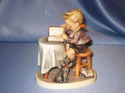 "M. I. Hummel ""Little Bookkeeper"" Figurine by Goebel."