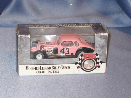 Modified Legend - Billy Greco - #43 Car by Ertl.