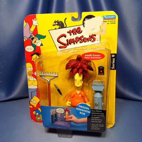 The Simpsons Prison Sideshow Bob Action Figure by Playmates.