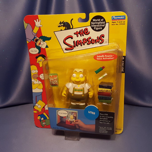 The Simpsons Uter Action Figure by Playmates.